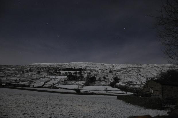 Stars Above Baugh Fell